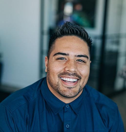 Joseph Takau is a member of the Porter Team